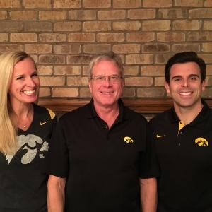 Dr. Jennifer, David, and Brian Fritz